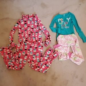 2 sets gymboree pj's. Girls size 10